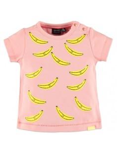 Baby Face tee-shirt rose...