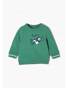 s.Oliver Sweat Shirt vert...