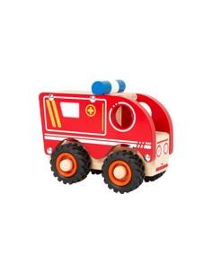 Small Foot Ambulance en bois